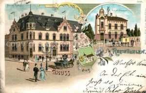 AK / Ansichtskarte Rheindahlen Rathaus Postamt Kat. Moenchengladbach