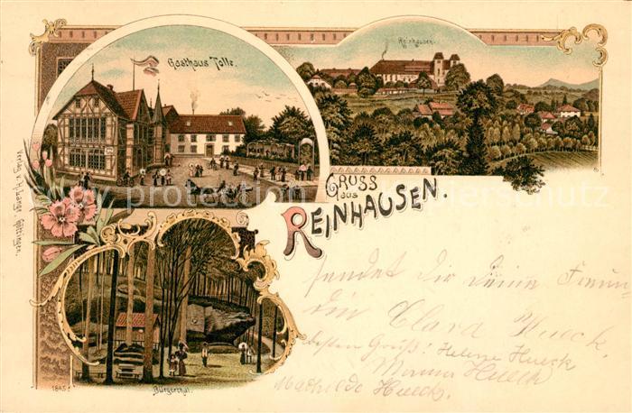 AK / Ansichtskarte Reinhausen Goettingen Gasthaus Tolle  Kat. Gleichen