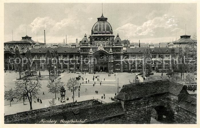 AK / Ansichtskarte Nuernberg Hauptbahnhof Kat. Nuernberg
