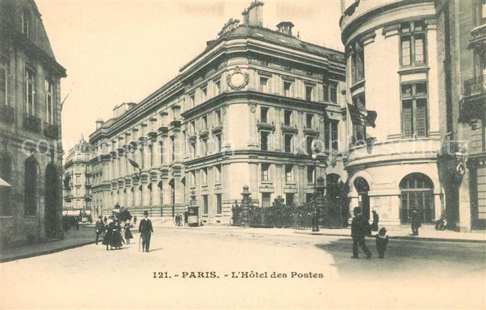 AK / Ansichtskarte Paris Hotel des Postes Kat. Paris