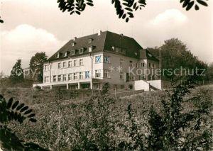 AK / Ansichtskarte Bad Godesberg Jugendherberge Gedicht Goethe Kat. Bonn
