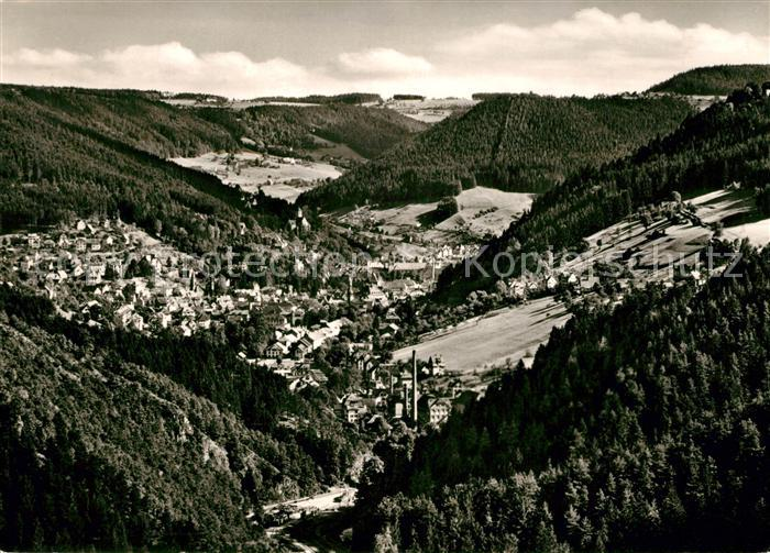 AK / Ansichtskarte Schramberg Fuenftaelerstadt Schwarzwald Fliegeraufnahme Kat. Schramberg