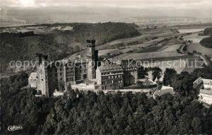 AK / Ansichtskarte Balduinstein Schloss Schaumburg an der Lahn Fliegeraufnahme Kat. Balduinstein