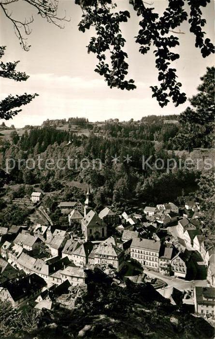 AK / Ansichtskarte Bad Berneck Panorama Blick vom Sonnentempel Kat. Bad Berneck Fichtelgebirge