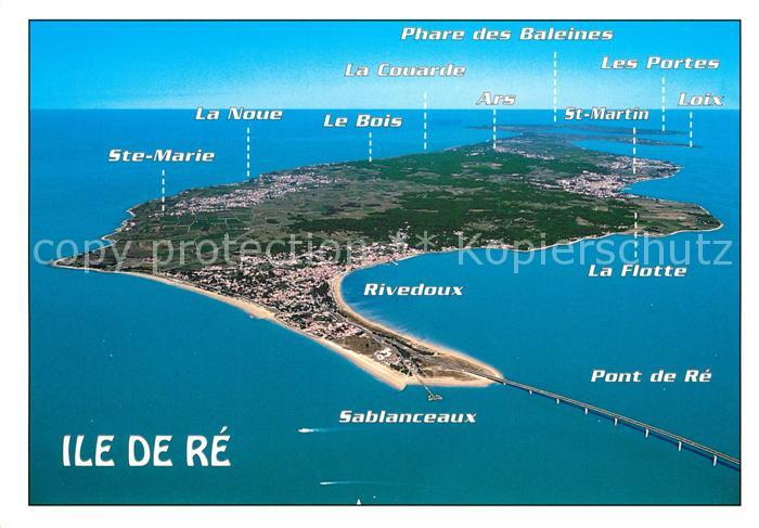 AK / Ansichtskarte Ile de Re Rivedoux Plage Vue aerienne Kat. Saint Martin de Re