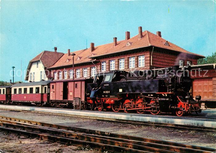 ak ansichtskarte lokomotive baederbahn bad doberan bahnhof kuehlungsborn kat eisenbahn nr. Black Bedroom Furniture Sets. Home Design Ideas