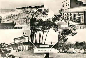 AK / Ansichtskarte Saint Brevin les Pins Roches Plage Casino Camping Kat. Saint Brevin les Pins