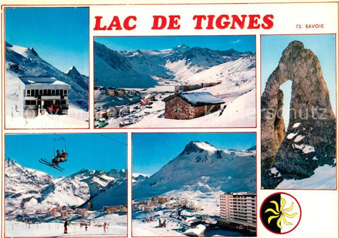 AK / Ansichtskarte Tignes Station d hiver du lac de Tignes Wintersportplatz Alpen Kat. Tignes