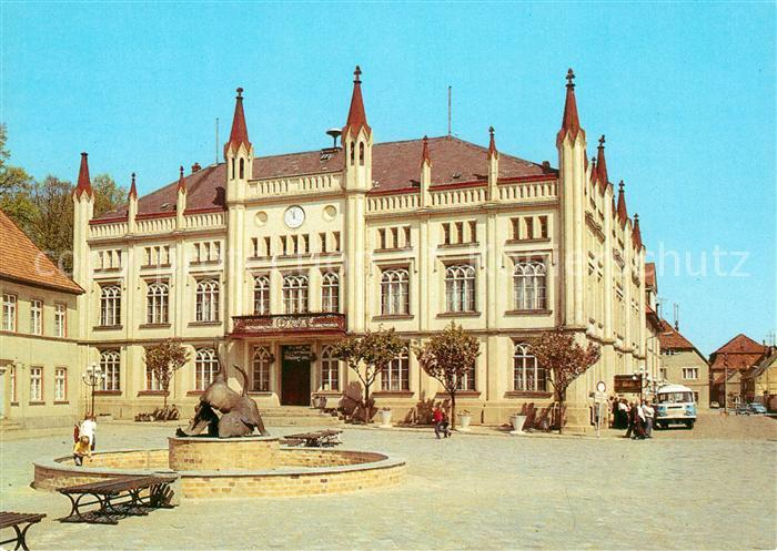 AK / Ansichtskarte Buetzow Rathaus Kat. Buetzow