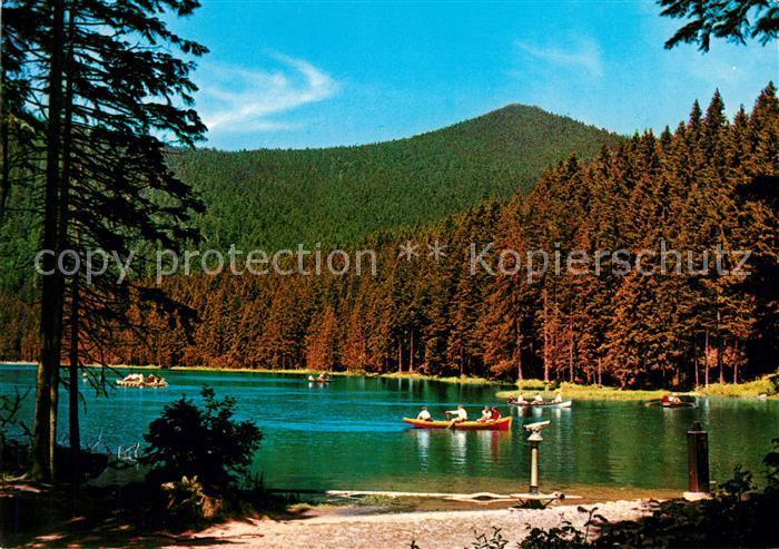 AK / Ansichtskarte Bayerischer Wald Grosser Arbersee