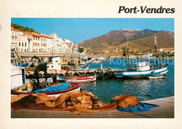 AK / Ansichtskarte Port Vendres Le port Kat. Port Vendres
