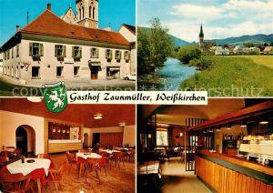 AK / Ansichtskarte Weisskirchen Steiermark Gasthaus Zaunmueller Kat. Weisskirchen in Steiermark