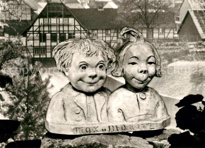 AK / Ansichtskarte Ebergoetzen Max und Moritz  Kat. Ebergoetzen