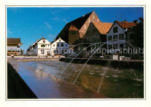 AK / Ansichtskarte Frombork Fontanna na rynku Fontaene am Markt Kat. Frauenburg Ostpreussen