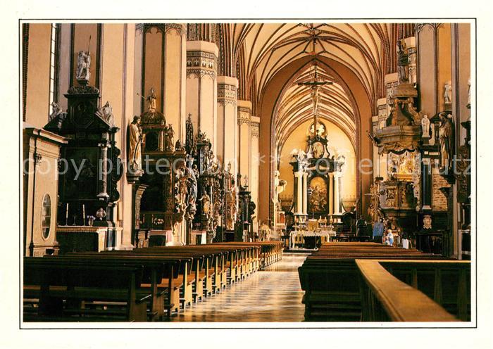 AK / Ansichtskarte Frombork Katedra Dom Mittelschiff Kat. Frauenburg Ostpreussen