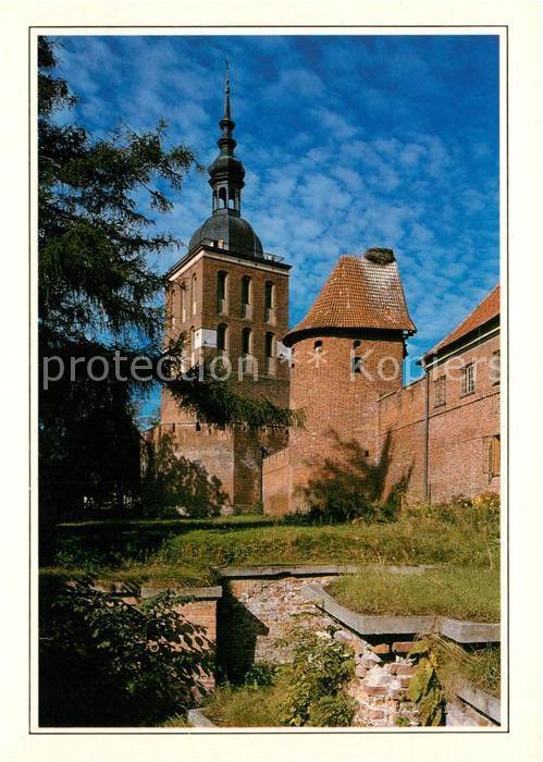 AK / Ansichtskarte Frombork Domanhoehe Ausgrabungsarbeiten am Barbakane Suedturm Glockenturm Kat. Frauenburg Ostpreussen
