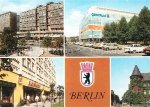 AK / Ansichtskarte Berlin Karl Liebknecht Strasse Centrum Warenhaus Nikolaiviertel Kleinmarkt Charite Hauptstadt der DDR Wappen Kat. Berlin
