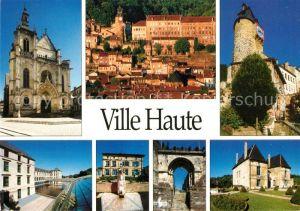 AK / Ansichtskarte Bar le Duc Lothringen La Ville Haute Eglise Chateau Kat. Bar le Duc
