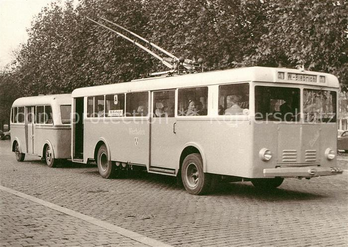 ak ansichtskarte autobus omnibus obus i wiesbaden henschel kaessbohrer bbc kat autos nr. Black Bedroom Furniture Sets. Home Design Ideas
