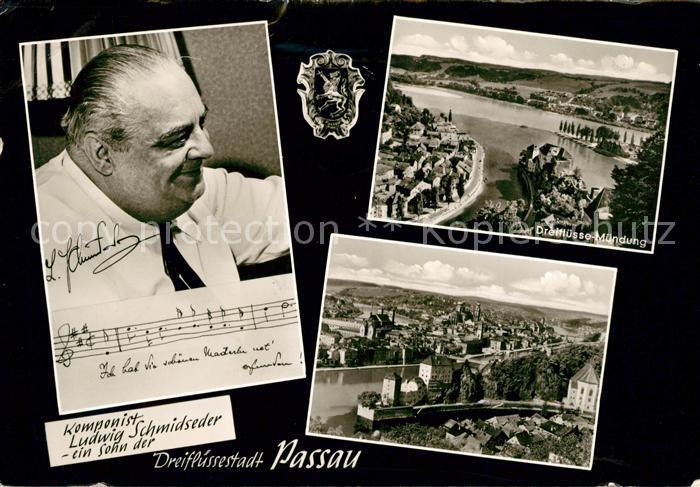AK / Ansichtskarte Komponist Ludwig Schmidseder Passau  Kat. Musik