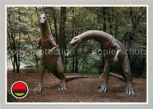 AK / Ansichtskarte Dinosaurier Plateosaurus Saurierpark Kleinwelka Kat. Tiere