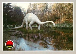 AK / Ansichtskarte Dinosaurier Diplodocus Saurierpark Kleinwelka Kat. Tiere