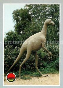 AK / Ansichtskarte Dinosaurier Stenonychosaurus Saurierpark Kleinwelka Kat. Tiere