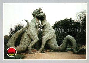 AK / Ansichtskarte Dinosaurier Tarbosaurus Saurierpark Kleinwelka Kat. Tiere