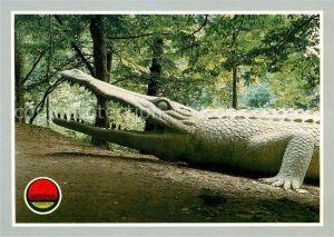 AK / Ansichtskarte Dinosaurier Deinosuchus Saurierpark Kleinwelka Kat. Tiere