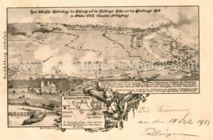 AK / Ansichtskarte Tuellingen 200 jaehriger Gedenktag Schlacht Tuellinger Hoehe Friedinger Feld 1702 Kat. Loerrach