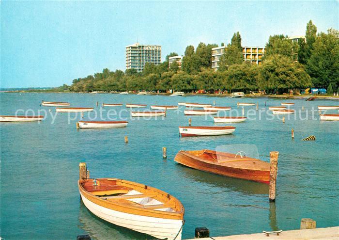 AK / Ansichtskarte Siofok Hafen am Plattensee Kat. Siofok