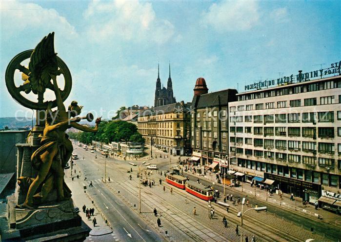 AK / Ansichtskarte Brno Bruenn Namesti Ceskoslovenske armady Platz der Tschechoslowakischen Armee Kat. Brno