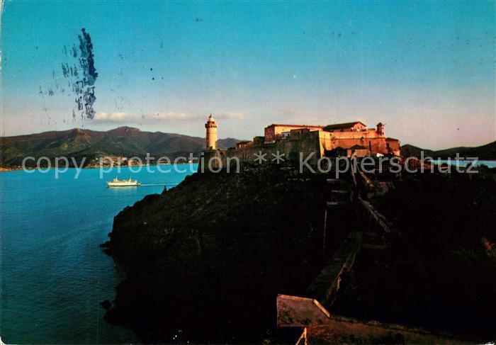 AK / Ansichtskarte Isola d Elba Portoferraio Villa Napoleonica dei Mulini e Forte Stella Kat. Italien