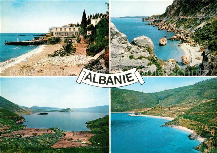 AK / Ansichtskarte Albanien Riviera Lumiere et couleurs du littoral Kat. Albanien