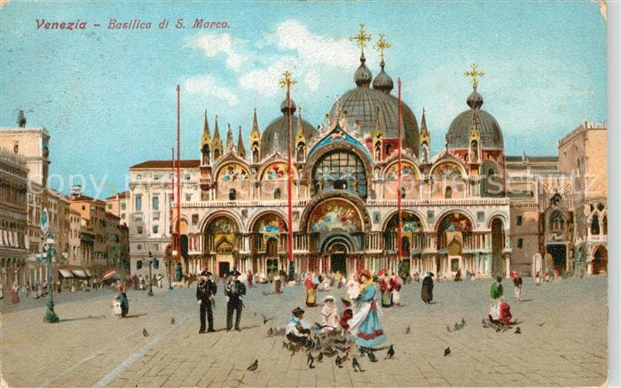 AK / Ansichtskarte Venezia Venedig Basilica di San Marco Kat.