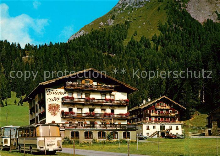 AK / Ansichtskarte Kals Grossglockner Gasthaus Taurerwirt Kat. Kals am Grossglockner