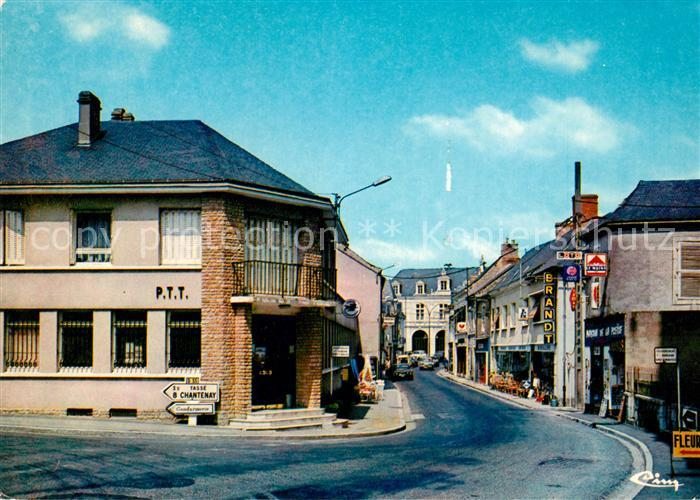 AK / Ansichtskarte Noyen sur Sarthe Rue Pasteur Kat. Noyen sur Sarthe