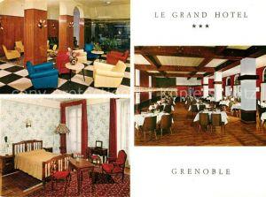 AK / Ansichtskarte Grenoble Le Grand Hotel Kat. Grenoble