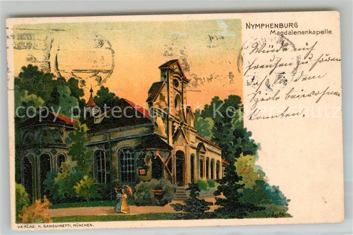 AK / Ansichtskarte Nymphenburg Magdalenenkapelle Kat. Muenchen