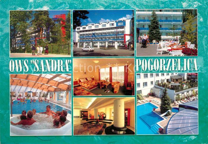 AK / Ansichtskarte Pogorzelica OWS Sandra Sanatorium