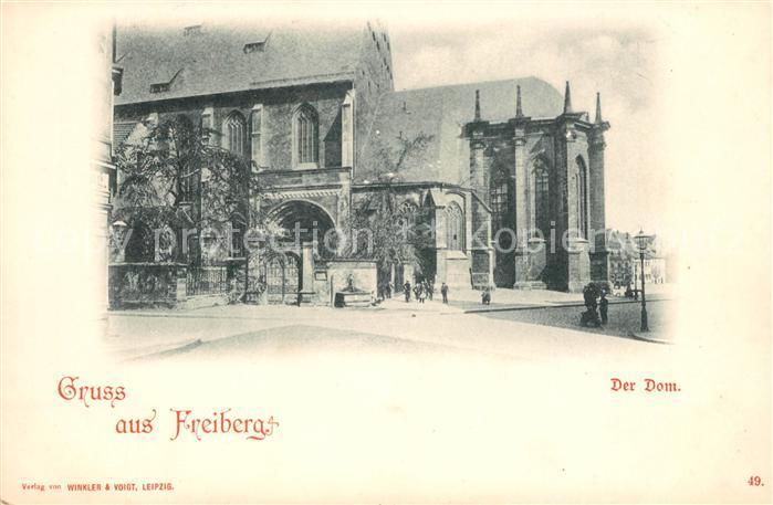 AK / Ansichtskarte Freiburg Breisgau Der Dom Kat. Freiburg im Breisgau