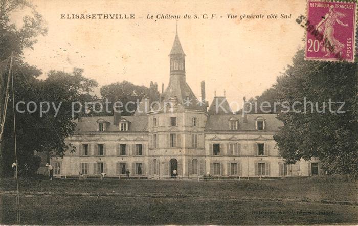 AK / Ansichtskarte Elisabethville Le Chateau du SFC  Kat. Aubergenville