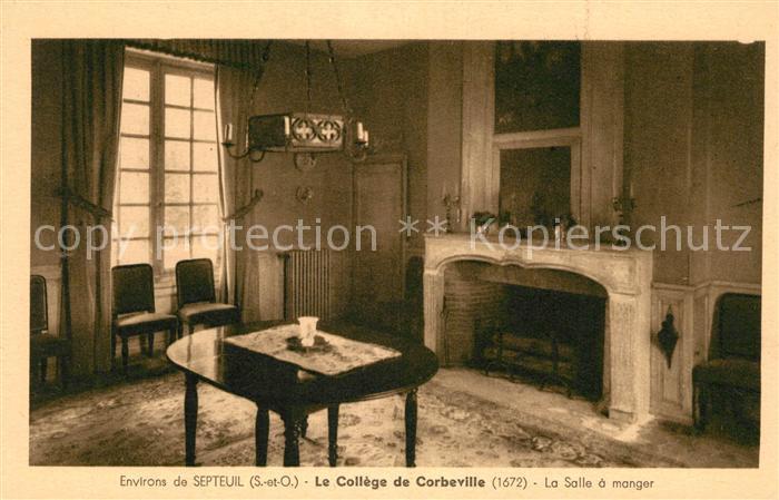 AK / Ansichtskarte Septeuil Le College de Corbeville La Salle a ...