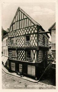 AK / Ansichtskarte Dreux Vieille Maison de la Grande Rue Kat. Dreux