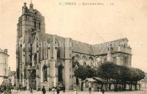 AK / Ansichtskarte Dreux Eglise Saint Pierre Kat. Dreux