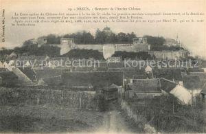 AK / Ansichtskarte Dreux Remparts de l'Ancien Chateau Kat. Dreux