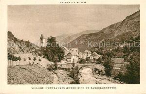 AK / Ansichtskarte Alpes Maritimes Region Village d Entraunes