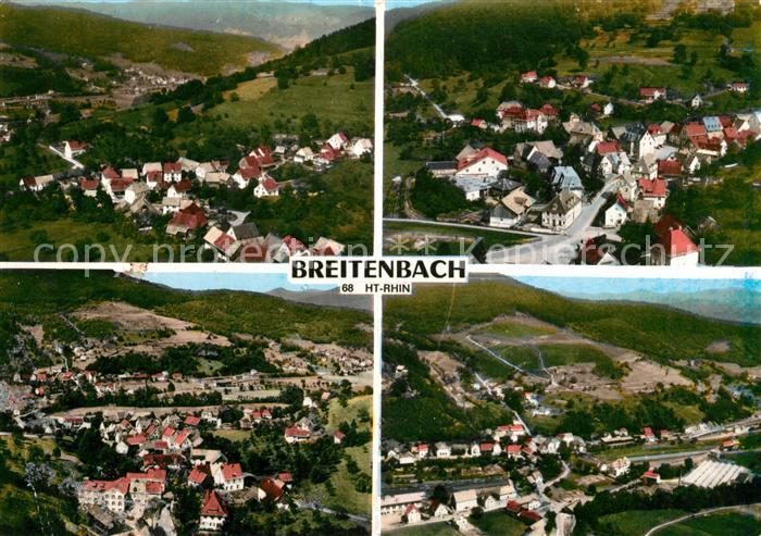 AK / Ansichtskarte Breitenbach Haut Rhin Fliegeraufnahmen Kat. Breitenbach Haut Rhin