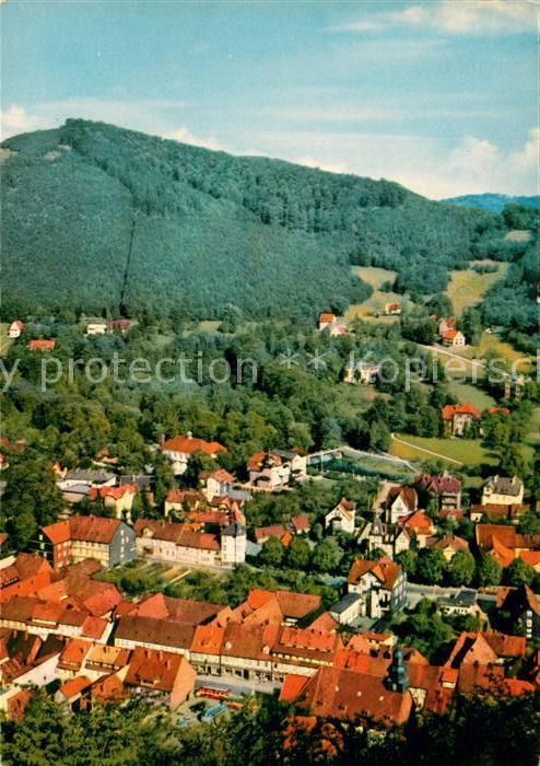 AK / Ansichtskarte Bad Lauterberg Ansicht vom Berg aus Kat. Bad Lauterberg im Harz