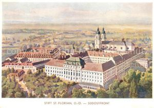 AK / Ansichtskarte St Florian Stift St Florian Kat. Oesterreich